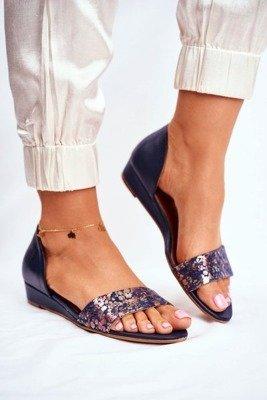 Damskie Sandały Pachnące Gumowe ZAXY Beżowe FF285025 | Tanie