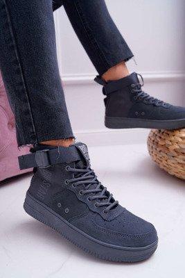 Wysokie Białe Trampki Damskie Sneakersy Reneda | Tanie i