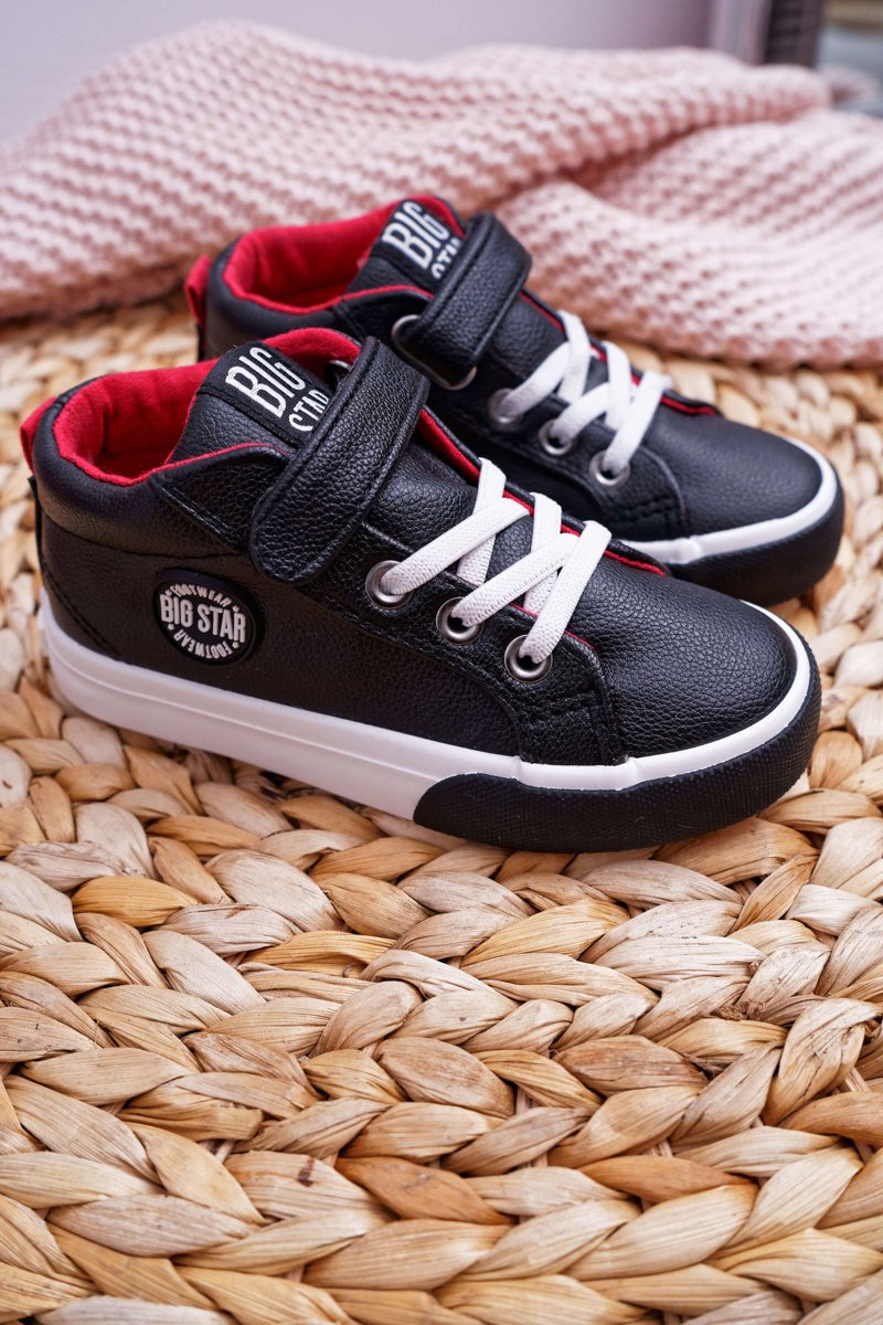 Children's Shoes Sneakers Big Star Black EE374001