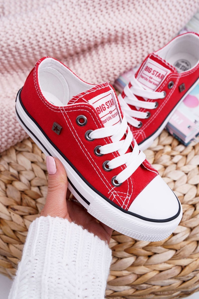 Children's Shoes Sneakers Big Star Red FF374200