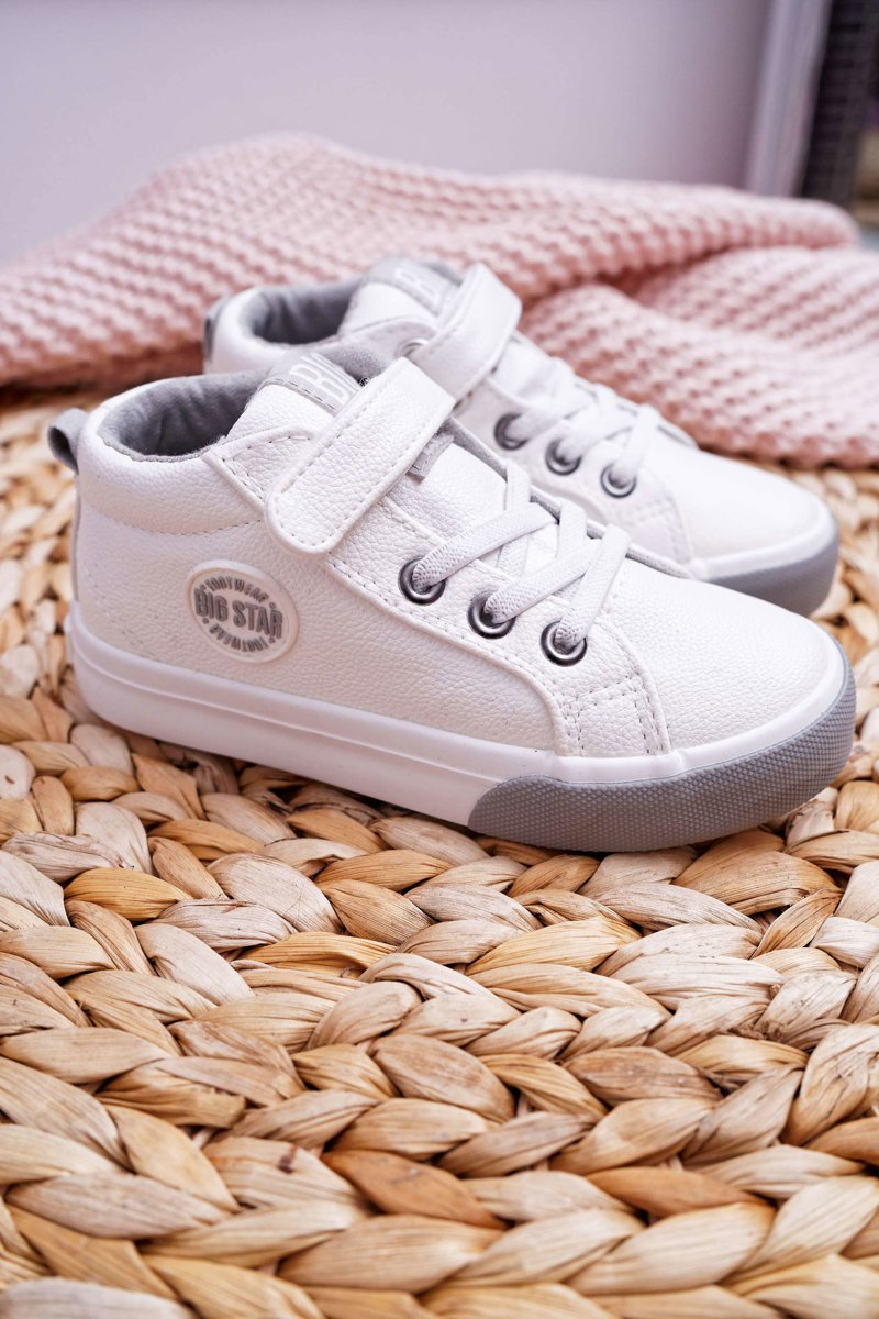 Children's Shoes Sneakers Big Star White EE374002