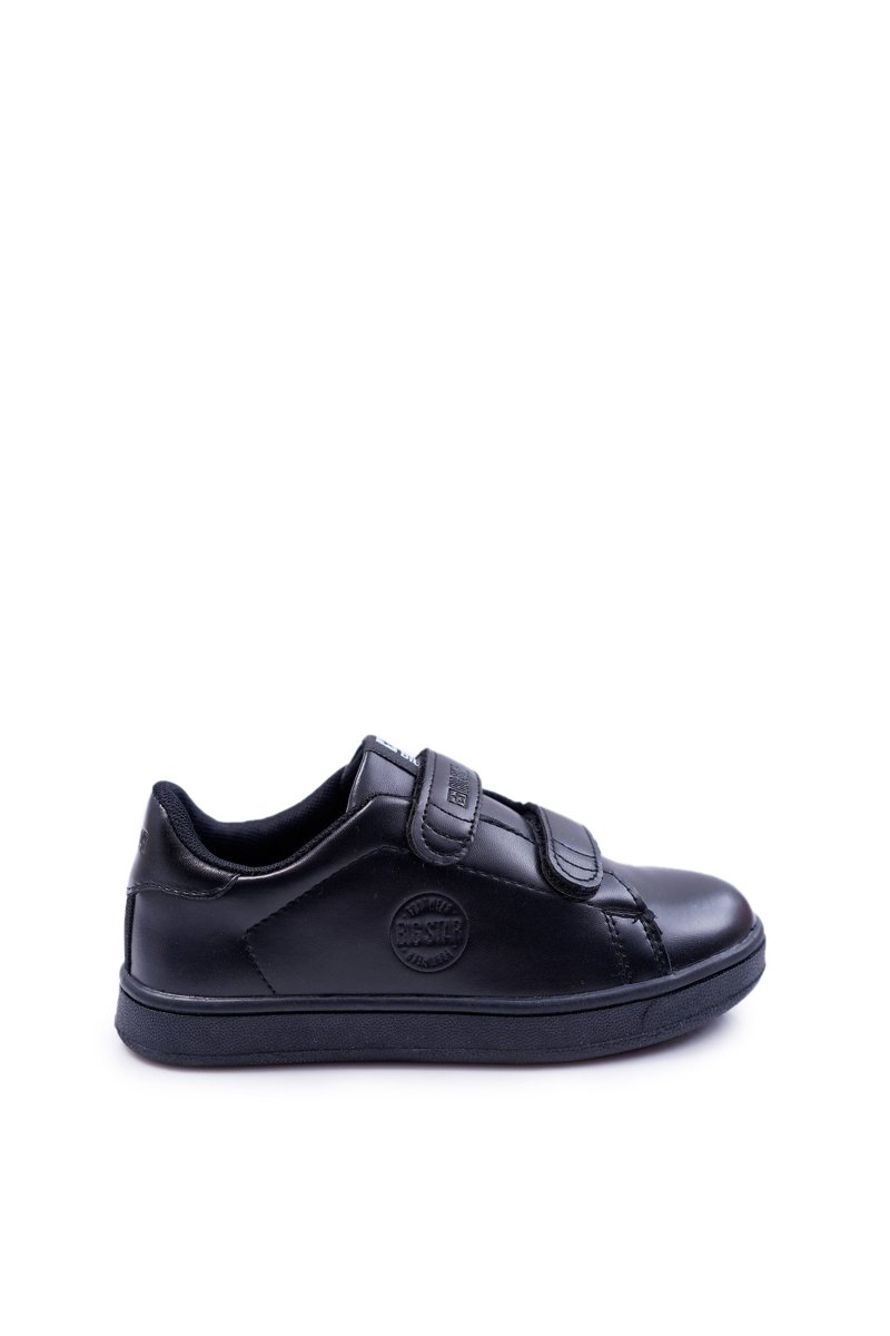 Children's Sneakers Big Star With Velcro Black DD374028
