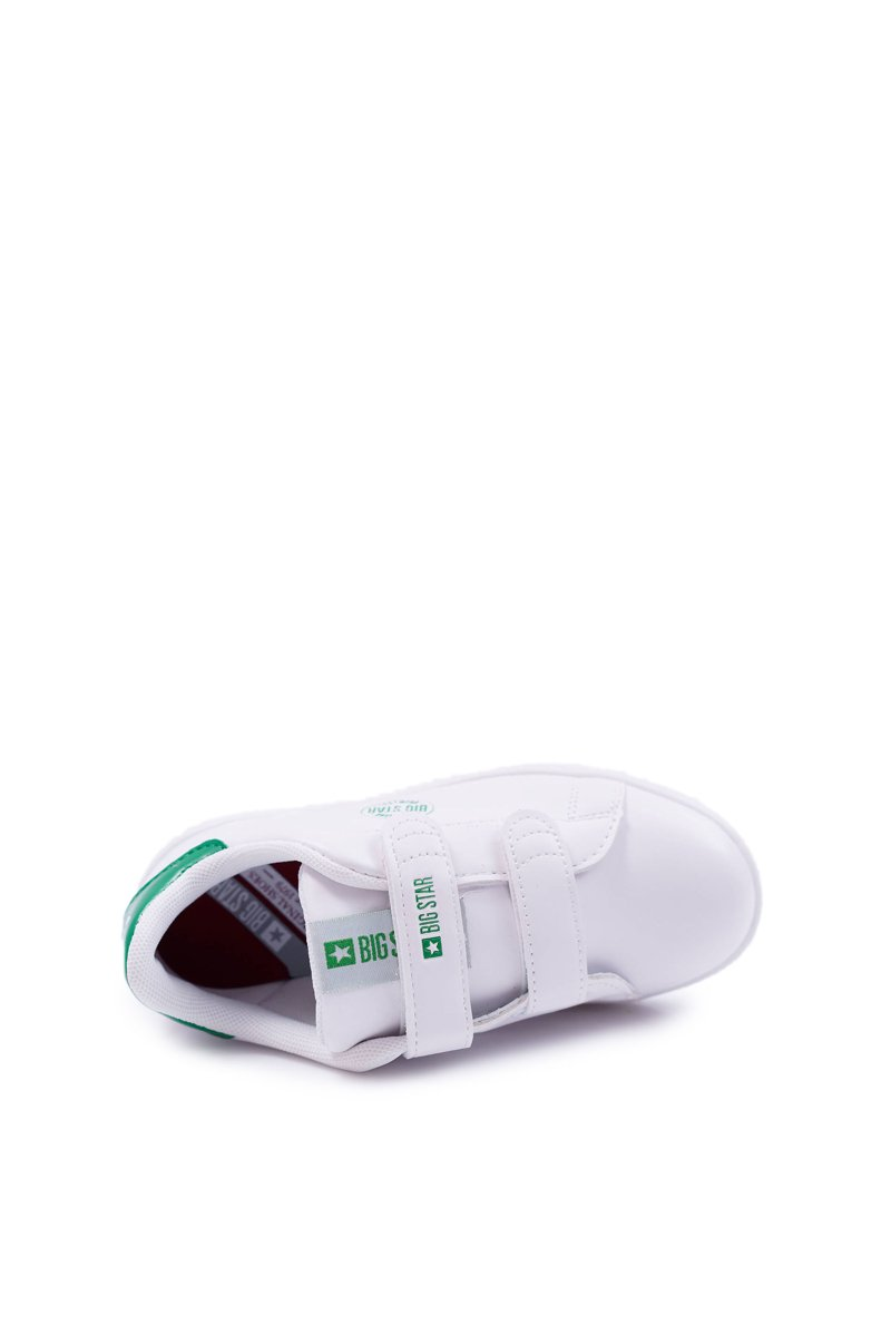 Children's Sneakers Big Star With Velcro White DD374029