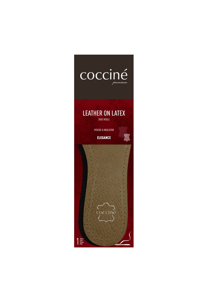 Coccine Leather Insoles On Latex Foam Cheap And Fashionable Shoes