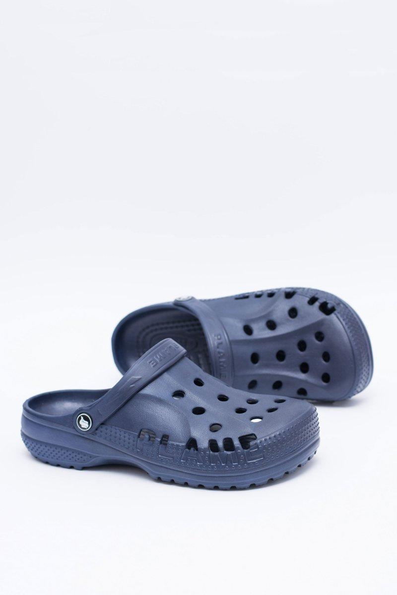 cost charm reasonably priced picked up Men's Slides Swimming Pool Crocs EVA Navy Blue