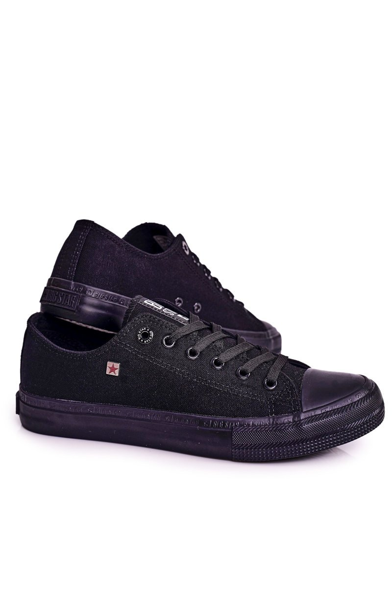 Men's Sneakers Low Big Star Black AA174009SS19