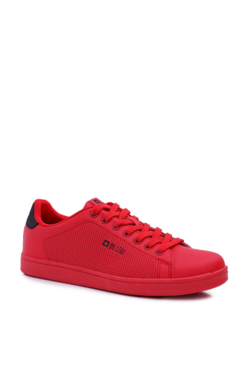 Men's Sneakers Low Big Star Red DD174390