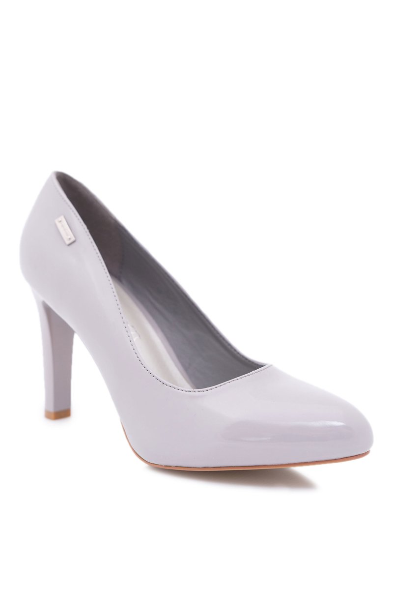 Varnished Grey Pumps Sergio Leone Campbell