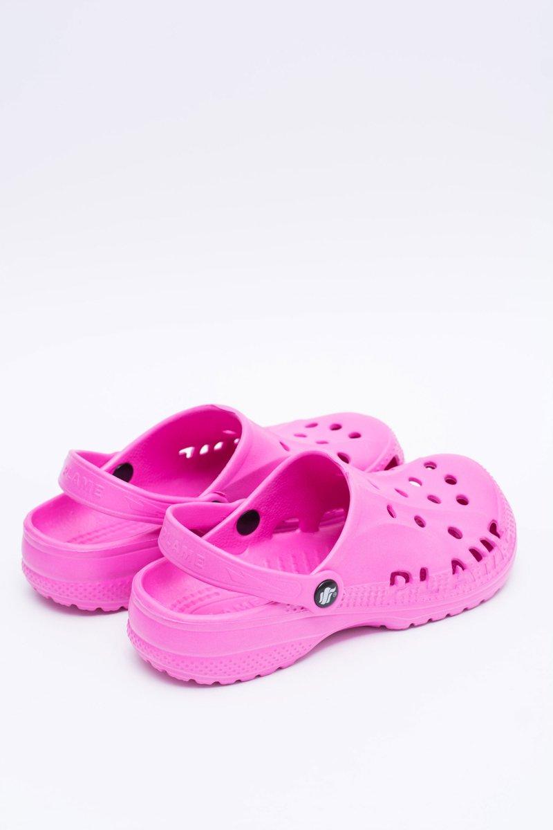 bd89082aad8546 Women Pink Flip-flops Crocs EVA