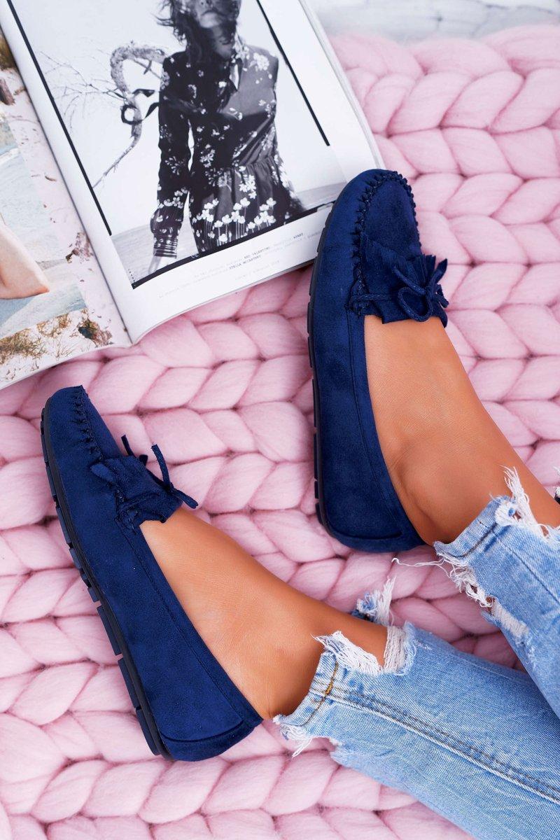 TOP Damen Ballerinas Schuhe Flats Slipper Pumps Loafers Slip on Komfort 36-41