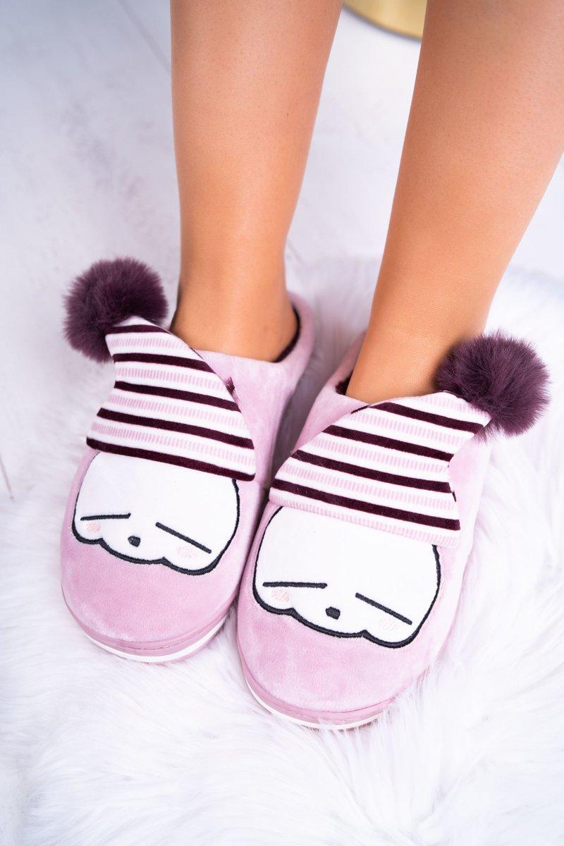 b61b3afecdcd eng pl Womens-Slippers-Homemade-Pink-heather-Mashimaro-7322 1.jpg