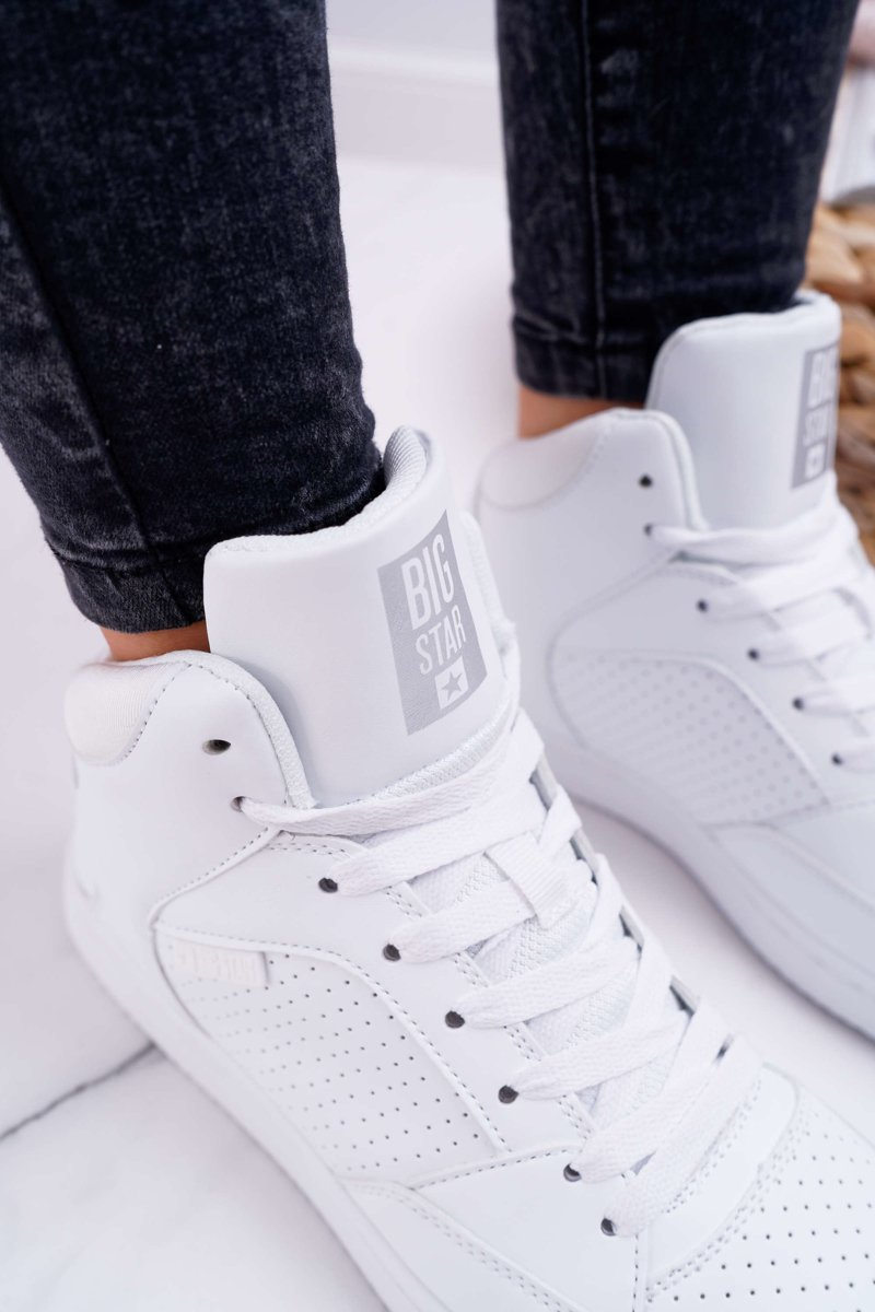 Women's Sneakers Big Star High White EE274210
