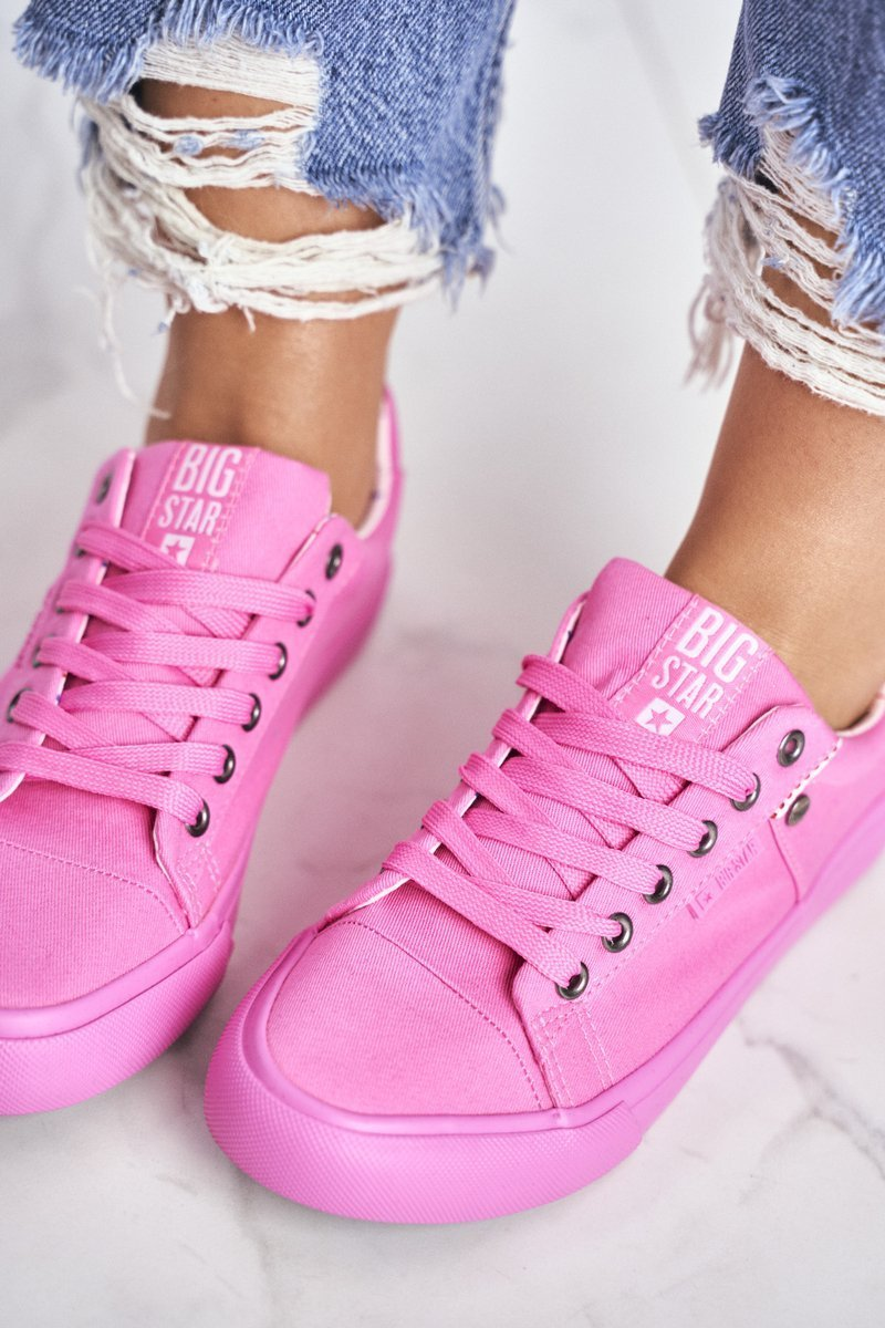 Women's Sneakers Big Star Pink AA274509