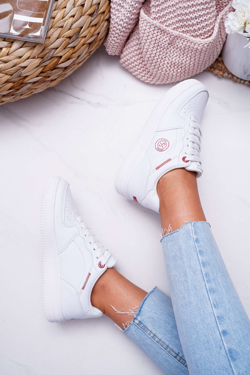 Women's Sneakers Cross Jeans White EE2R4143C