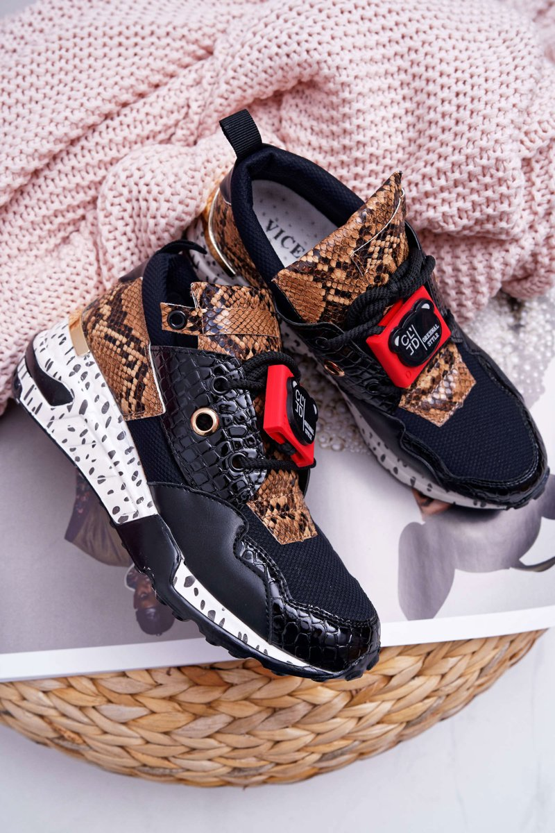 Women's Sport Shoes Vices Black Million Reasons