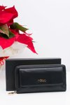 Beautiful Women Black Wallet Nobo