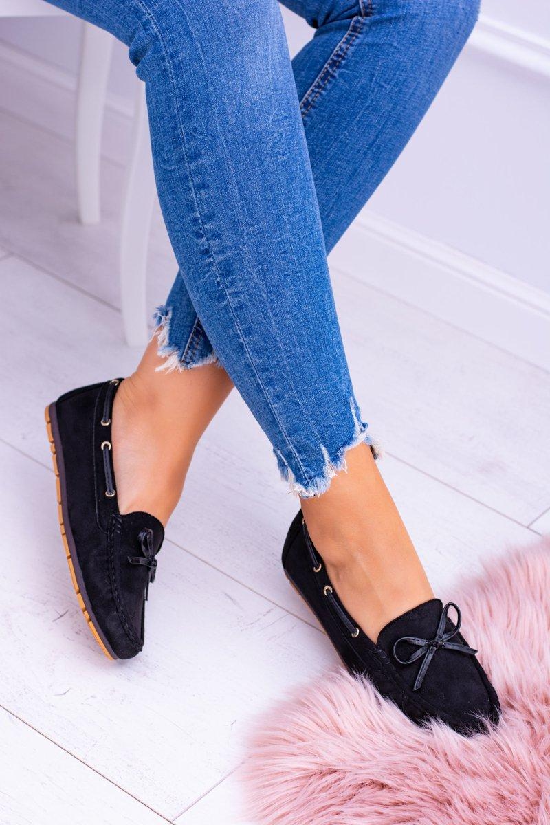 db29ef4dc61 Czarne Zamszowe Mokasyny Comfort Gucio | Tanie i modne buty online w ...