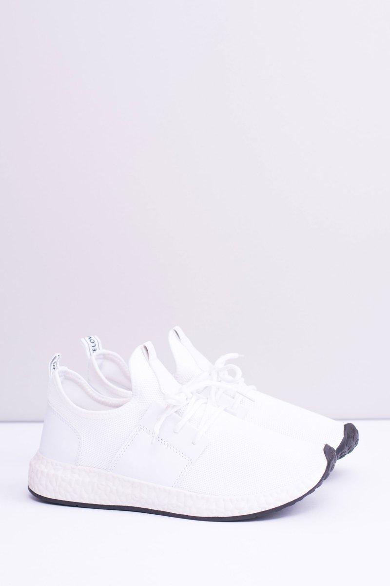 8c8d7ff2 Męskie Białe Obuwie Sportowe Mathieu | Tanie i modne buty online w ...