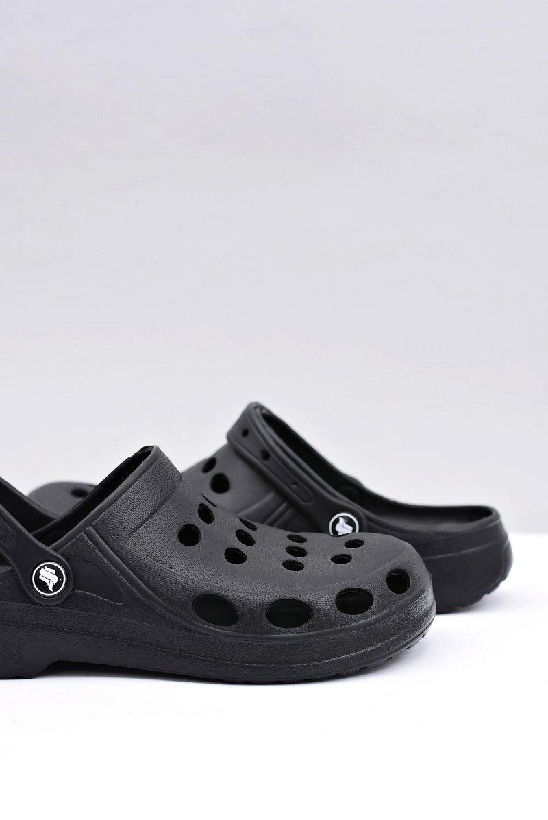 świetne oferty tani wykwintny design Męskie Klapki Sandały Czarne Kroksy