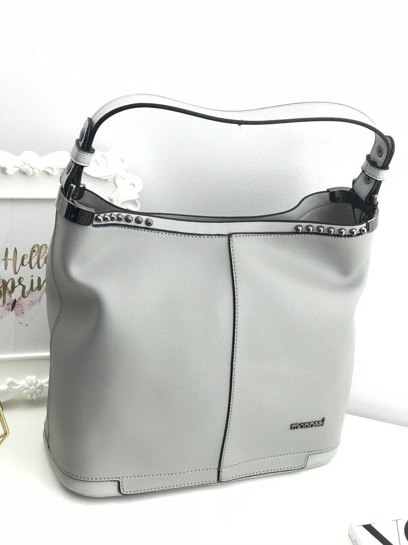 24301a333a7df Monnari Szara Damska Torba Shopperka | Tanie i modne buty online w ...