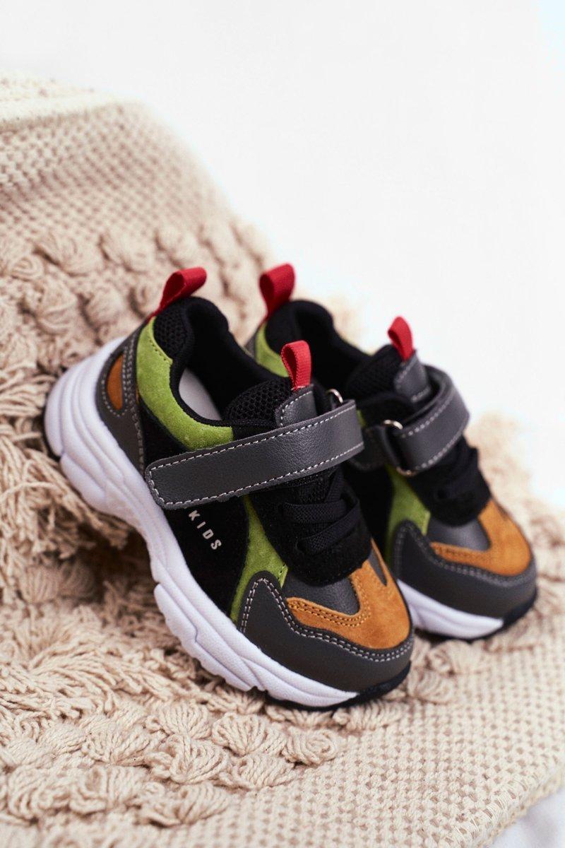 Sportowe Buty Dzieciece Czarne Abckids B932104063 Tanie I Modne Buty Online W Butosklep Pl