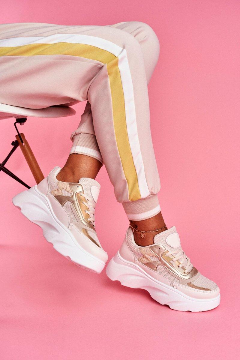 Sportowe Damskie Buty Bezowe Dallas Tanie I Modne Buty Online W Butosklep Pl