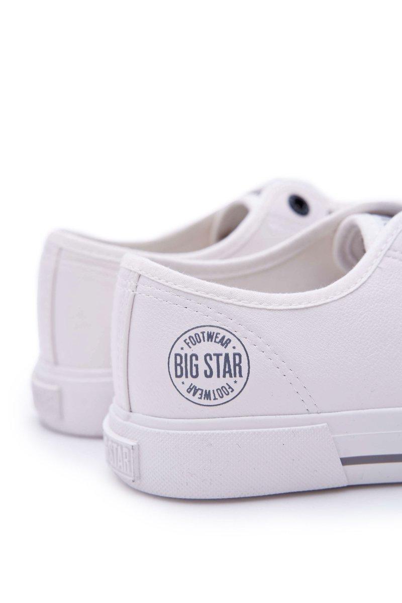 Trampki Męskie Big Star Białe FF174054